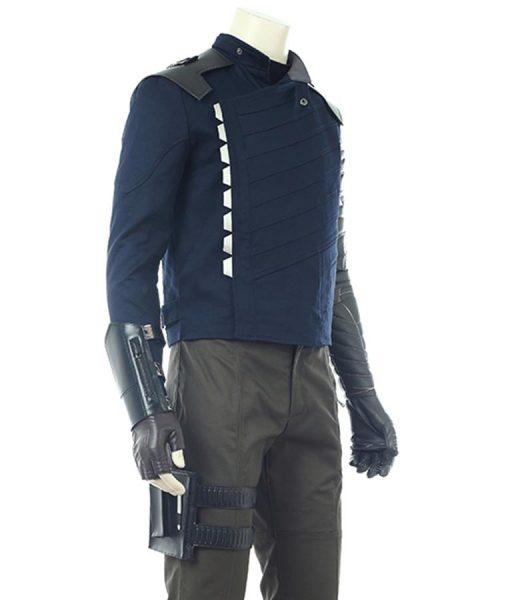 Avengers Infinity War WInter Soldier Leather Jacket