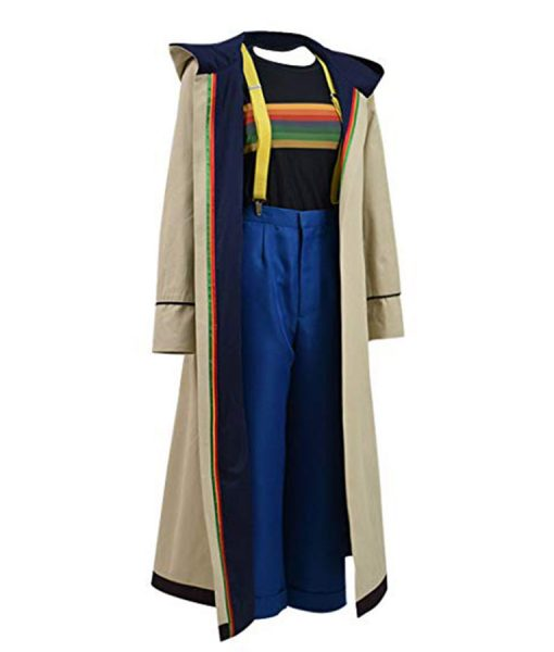 Doctor Who 13th Doctor Trench Coat