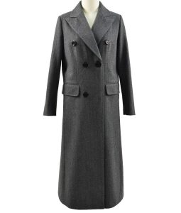 Jodie Whittaker 13th Doctor Who Grey Trench Coat