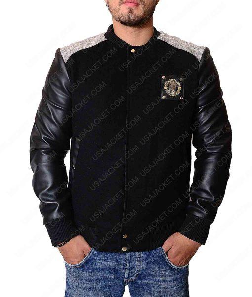 Manchester United Letterman Jacket