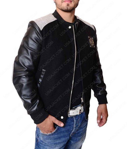 Manchester United Black Bomber Jacket