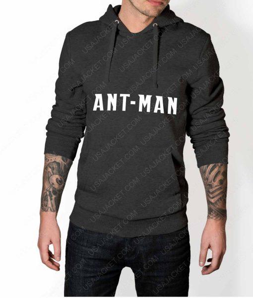 Men Ant-Man Logo Grey Pullover Hoodie