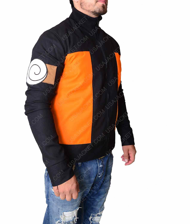 naruto uzumaki orange cotton track jacket