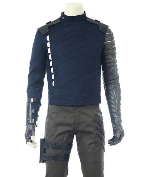 Sebastian Stan Avengers Infinity War Bucky Barnes Jacket