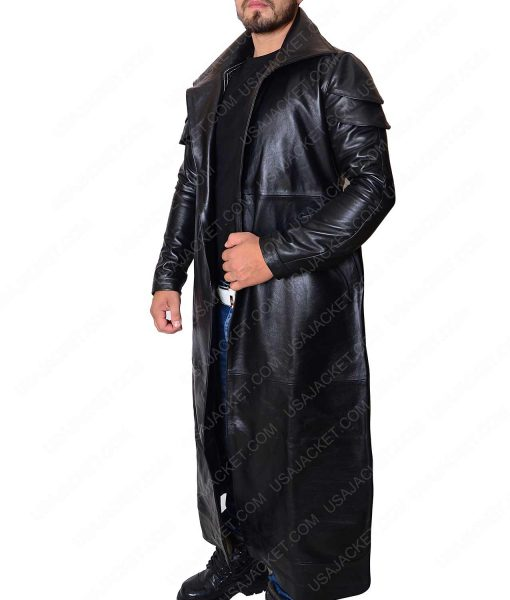 Star Wars DJ Long Leather Trench Coat