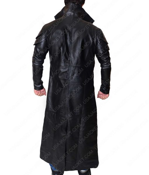 Star Wars The Last Jedi DJ Black Trench Coat