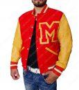 Thriller Varsity Bomber Jacket