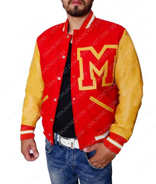 Michael Jackson Letterman Jacket
