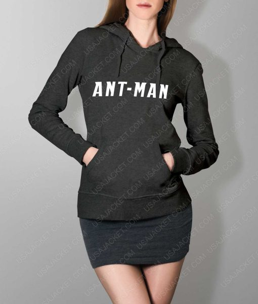 Women Ant-Man Logo Grey Pullover Hoodie