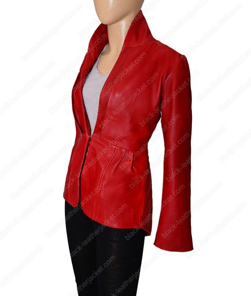 Womens Red Tailback Blazer