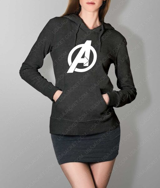 Womens The Avengers Pullover Grey Hoodie