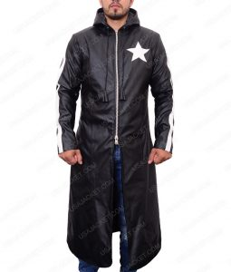 Mato Kuroi Black Rock Shooter Version 2 Leather Trench Coat