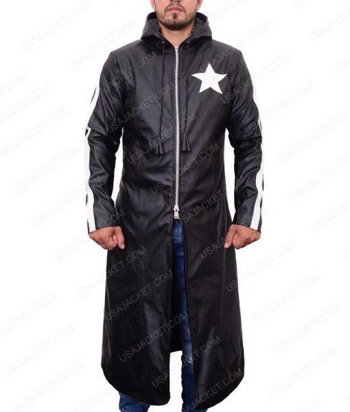Black Rock Shooter Mato Kuroi Trench Coat