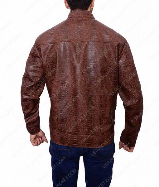 John Wick 2 Common CassianDark Brown Leather Jacket