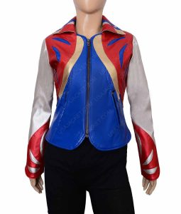 Britt Robertson GirlBoss Sophia Marlowe Leather Jacket