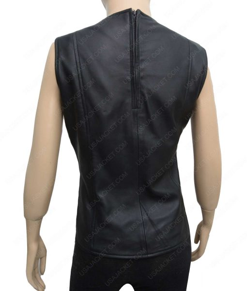 Gamora Guardians of the Galaxy Vol 2 Zoe Saldana Leather Vest
