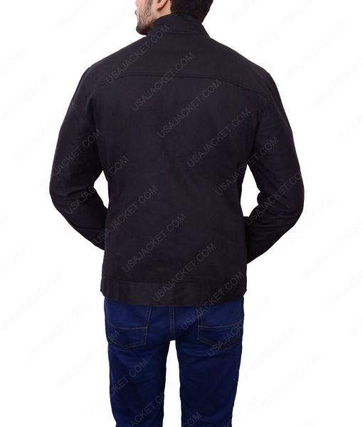 Quantum Of Solace Black Cotton Jacket