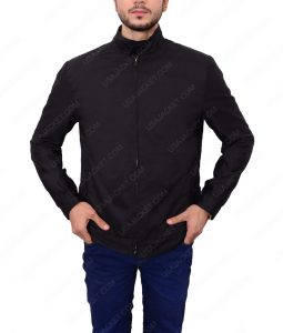 James Bond Quantum Of Solace Daniel Craig Black Cotton Jacket