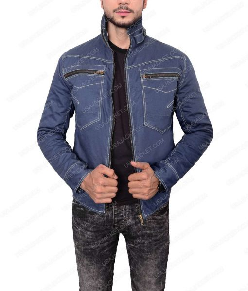 Beauty And The Beast Vincent Keller Denim Jacket