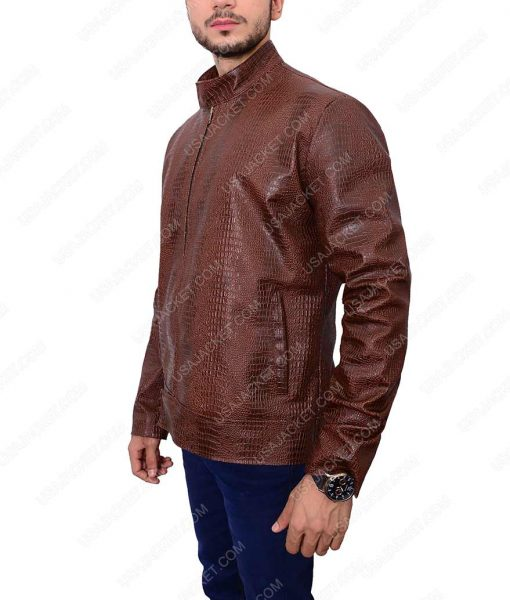 Cassian Common Dark Brown Leather Jacket