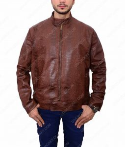 John Wick 2 Cassian Common Dark Brown Leather Jacket