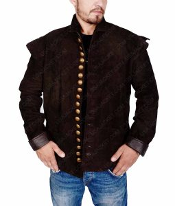 WIll William Shakespeare Leather Jacket