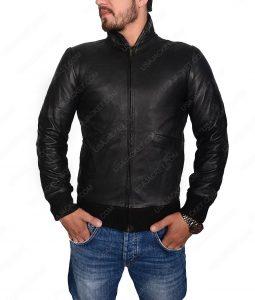 Rocky Balboa Rocky 2 Black Leather Jacket