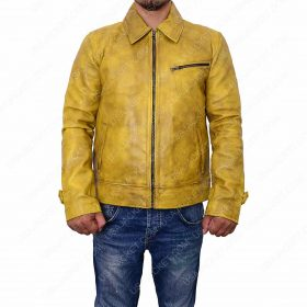 Roy Miller Knight And Day Leather Jacket