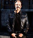 The Walking Dead Steven Ogg Simon Black Leather Bomber Jacket