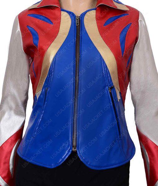 Sophia Marlowe GirlBoss Britt Robertson Leather Jacket