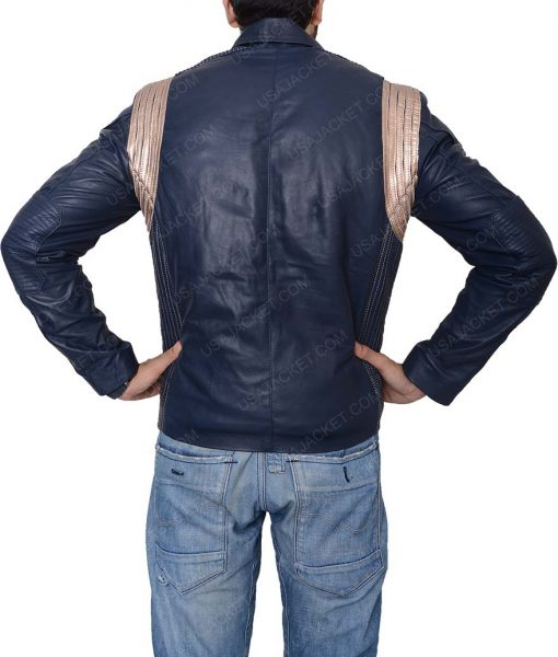 Star Trek Blue Leather Jacket