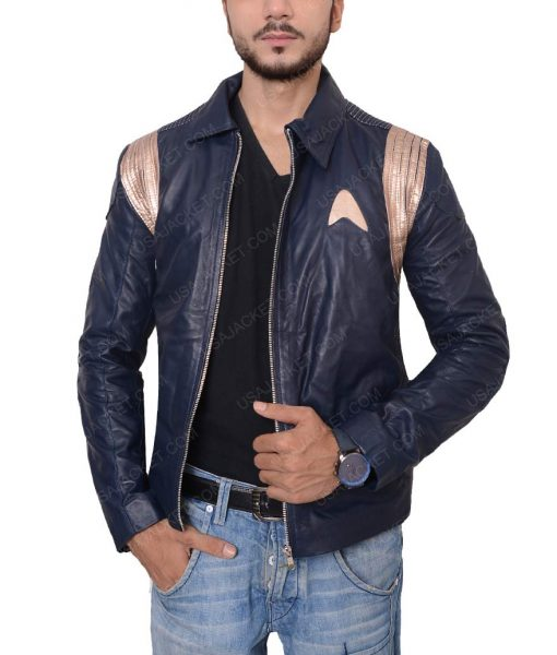 Star Trek Discovery Leather Jacket