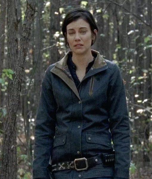 Maggie Greene The Walking Dead Lauren Cohan Field Jacket