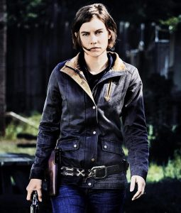 The Walking Dead Lauren Cohan Cotton Field Jacket