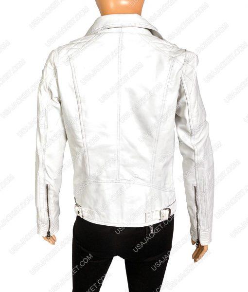 Womens Biker Leather Jacket