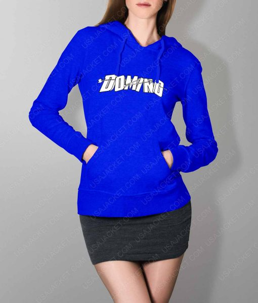 Womens Domino DP2 Blue Hoodie