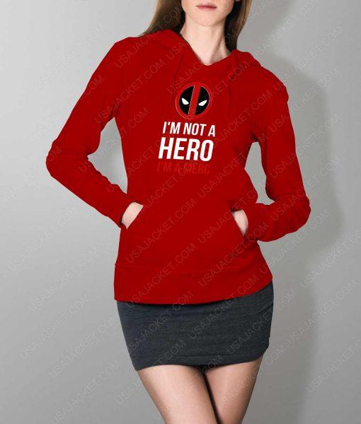 Womens IM A Merc Red Hoodie