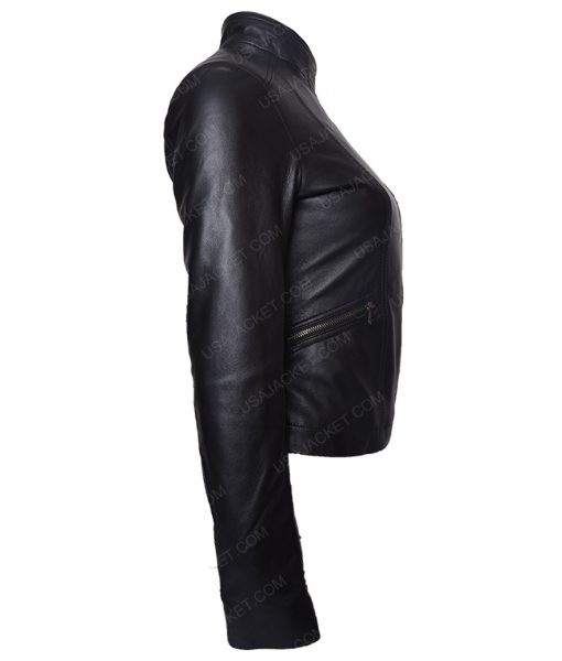 Mcadams Black Leather Jacket