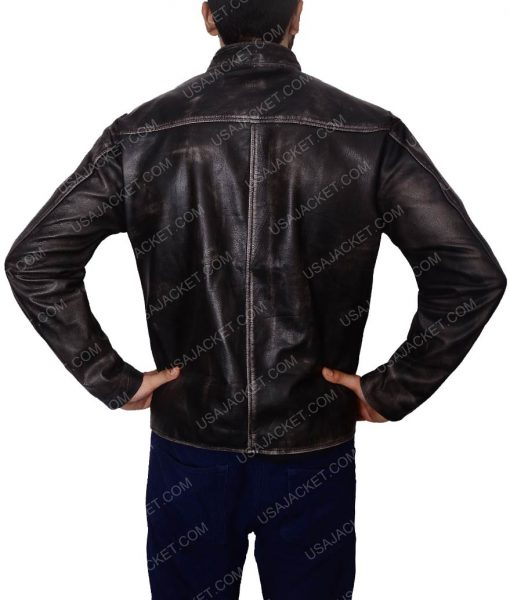 Tom Cruise Motorcycle Riding Leather Jacket