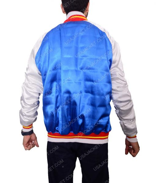 Blue Bomber Varisity Jacket