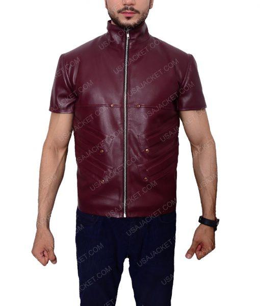 Men's Maroon Vest