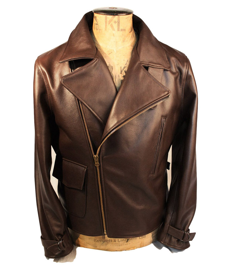 Steve Rogers Captain America The First Avenger Brown Motorcycle Jacket
