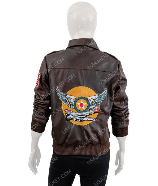 Carol Danvers Flight Brown Jacket