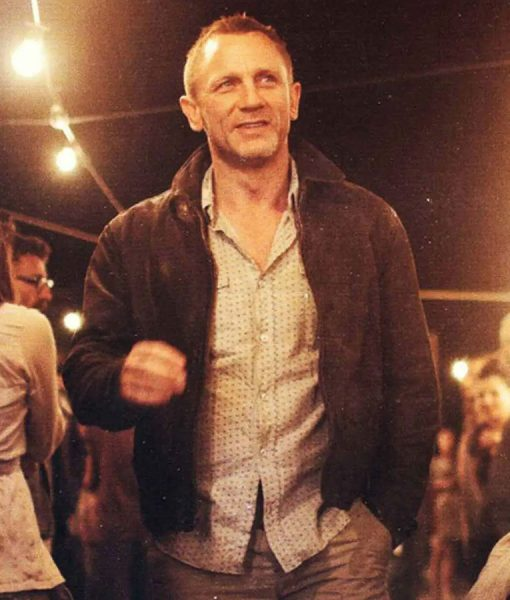 Daniel Craig Skyfall James Bond Dark Brown Jacket