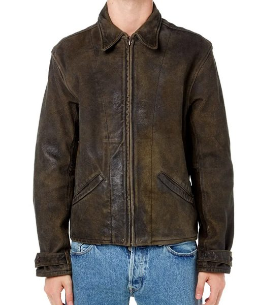James Bond Skyfall Brown Leather Jacket