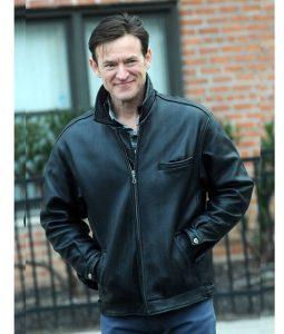 Dietland Dominic Dark Brown Leather Jacket