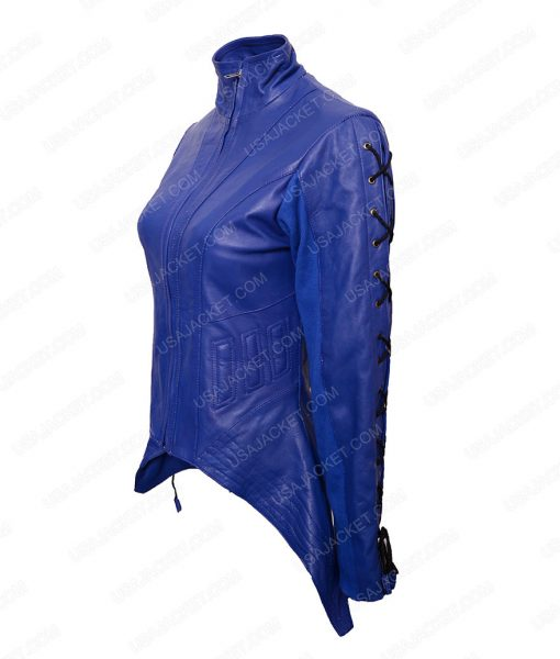 Killjoys TV Series Dutch Blue Leather Jacket