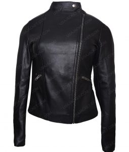 Game Night Annie Rachel Mcadams Black Leather Jacket