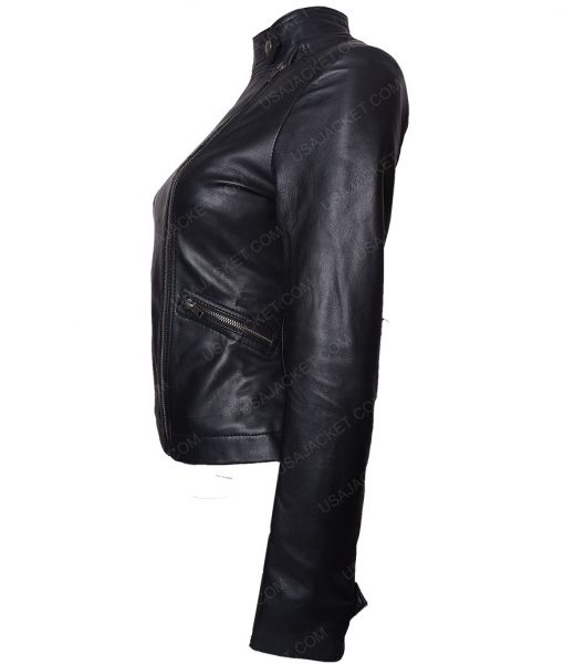 Game Night Rachel Mcadams Black Leather Jacket
