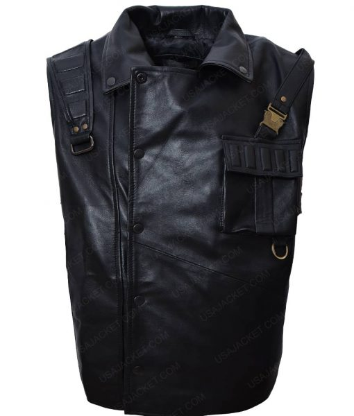 Harry Mudd Leather Vest